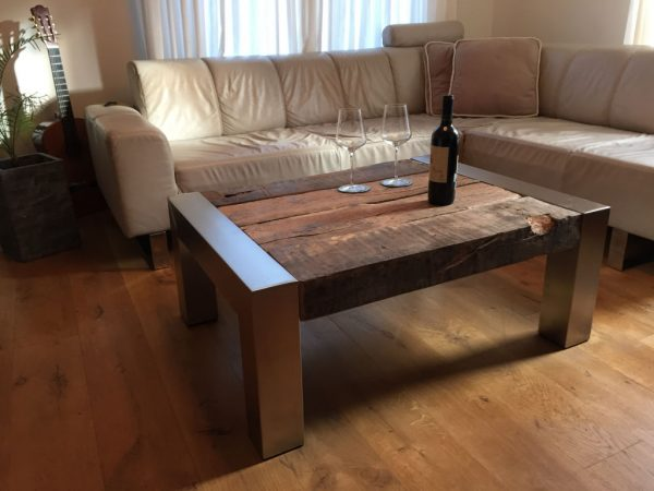 Salon table woodfarm